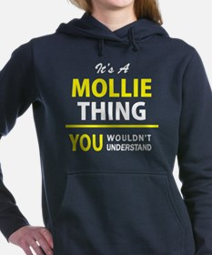 Cute Mollie Women's Hooded Sweatshirt