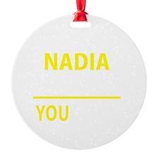 Funny Nadia Ornament