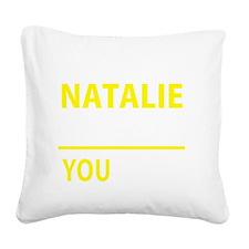 Cute Natalie Square Canvas Pillow