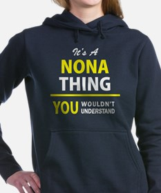 Cool Nona Women's Hooded Sweatshirt