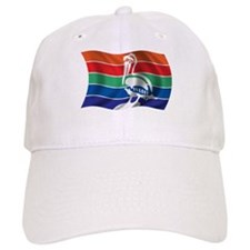 Wavy St. Petersburg Flag Baseball Cap