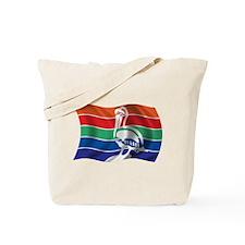 Wavy St. Petersburg Flag Tote Bag