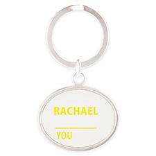 Cute Rachael Oval Keychain