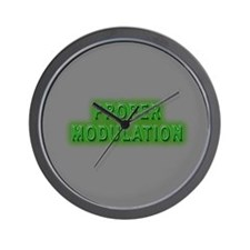 Proper Modulation Wall Clock