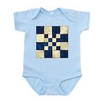 Cracked Tiles - Blue Infant Bodysuit