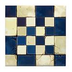 Cracked Tiles - Blue Tile Coaster