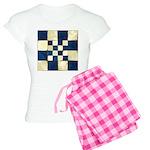 Cracked Tiles - Blue Women's Light Pajamas