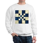 Cracked Tiles - Blue Sweatshirt