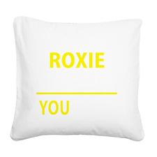 Roxy Square Canvas Pillow