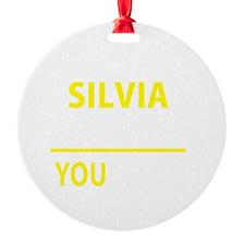Unique Silvia Ornament