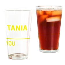 Cute Tania Drinking Glass