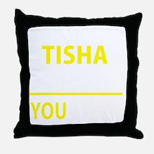 Cute Tisha Throw Pillow