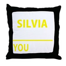 Unique Silvia Throw Pillow