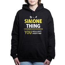 Cute Simon Women's Hooded Sweatshirt