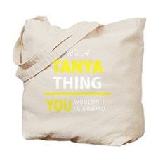 Cute Tanya Tote Bag