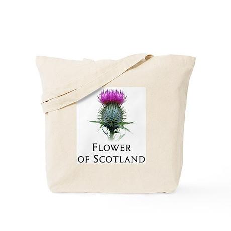 Flower of Scotland Tote Bag