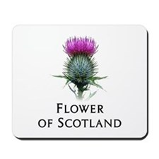 Flower of Scotland Mousepad