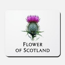Flower of Scotland Mousepad