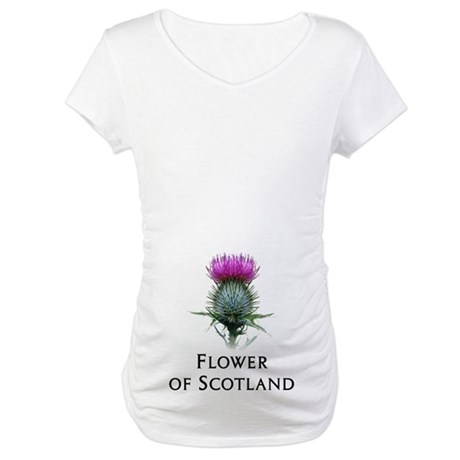 Flower of Scotland Maternity T-Shirt