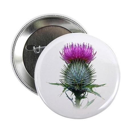 """Flower of Scotland 2.25"""" Button"""
