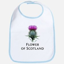 Flower of Scotland Bib