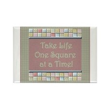 quilting_onesquare Magnets