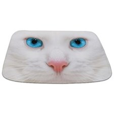 White Cat Bathmat