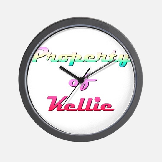 Property Of Kellie Female Wall Clock