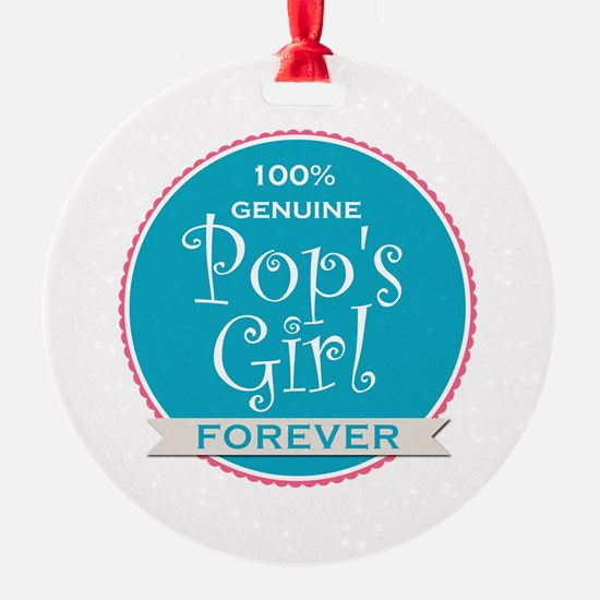 100% Pop's Girl Ornament