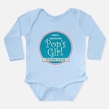 100% Pop's Girl Onesie Romper Suit