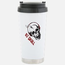 DJ Skull-2 Travel Mug
