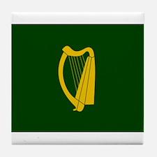 Harp Flag Tile Coaster