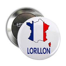 une goupille avec motif Lorillon