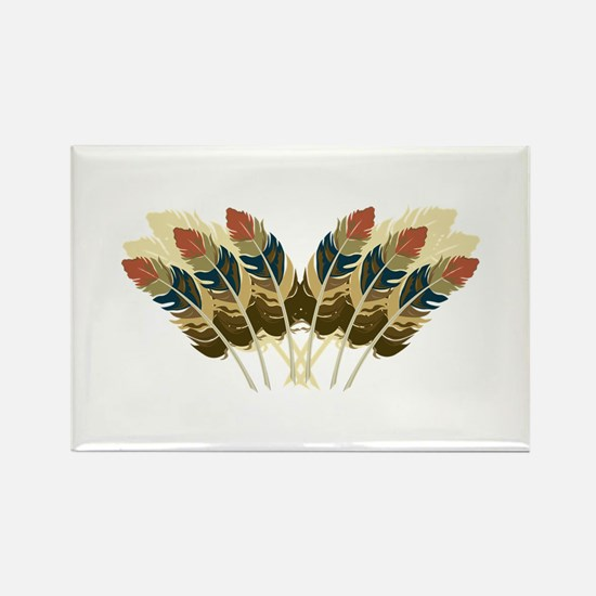 Fall Color Feathers Magnets