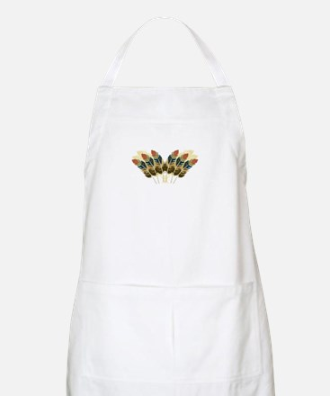Fall Color Feathers Apron