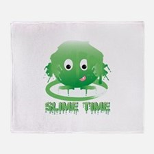 Slime Time Throw Blanket