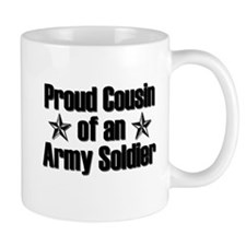 Proud Army Cousin Mugs