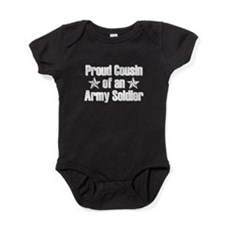 Proud Army Cousin Baby Bodysuit