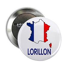 dix goupilles avec motif Lorillon