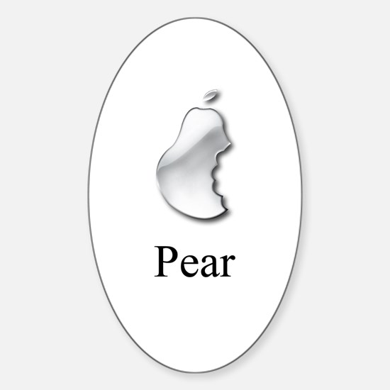 Pear Computers Oval Decal