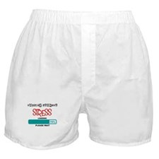 Nursing student Loading lights Boxer Shorts