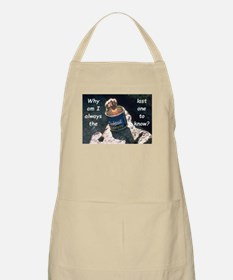 Last One To Know Apron