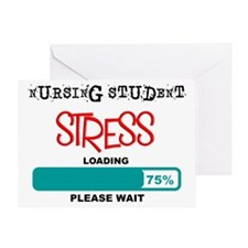 Nursing student Loading lights Greeting Cards