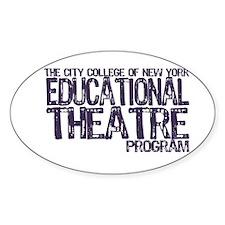 CCNY Educational Theatre Sticker