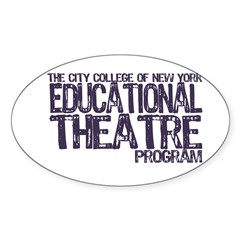 CCNY Educational Theatre Decal