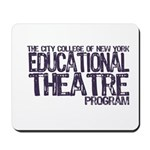 CCNY Educational Theatre Mousepad