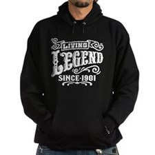 Living Legend Since 1981 Hoodie