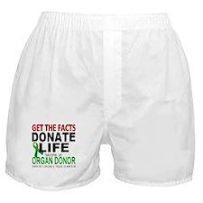 Transplant Awareness Boxer Shorts