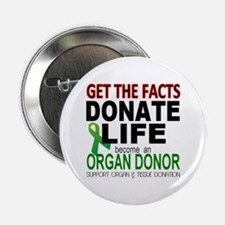 "Transplant Awareness 2.25"" Button (10 pack)"