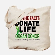 Transplant Awareness Tote Bag